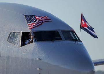 Miami y La Habana, primer vuelo directo pese a las turbulencias políticas