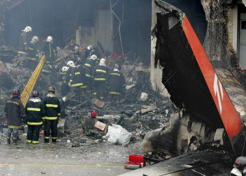 Los peores accidentes de avión en Brasil