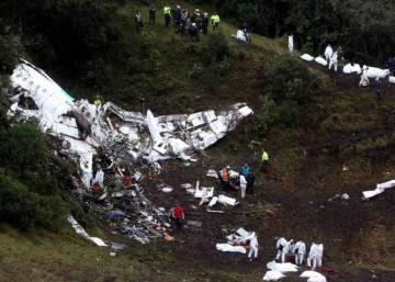 El accidente de avión del Chapecoense deja al menos 75 muertos en Colombia
