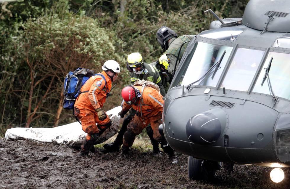 Accidente del avión de Chapecoense en Colombia