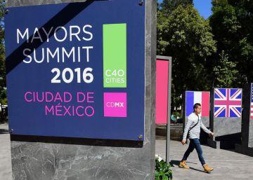 Los alcaldes contra el cambio climático se reúnen en Ciudad de México