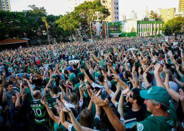 El Chapecoense, el equipo adoptado ya por todo Brasil