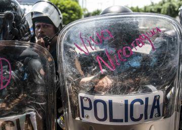 Nicaragua reprime las protestas contra el Canal