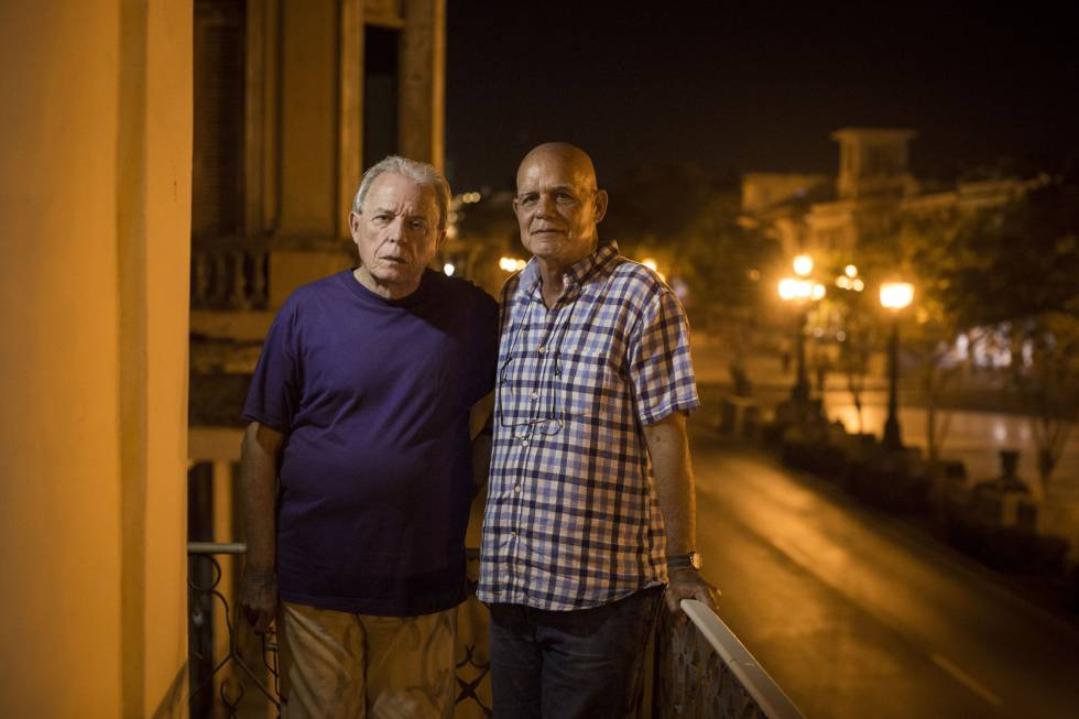 Antón Arrufat y Pedro Juan Gutiérrez, dos figuras clave de la literatura cubana.