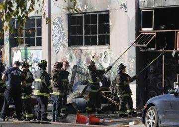 El incendio de Oakland se cobra 36 víctimas mortales
