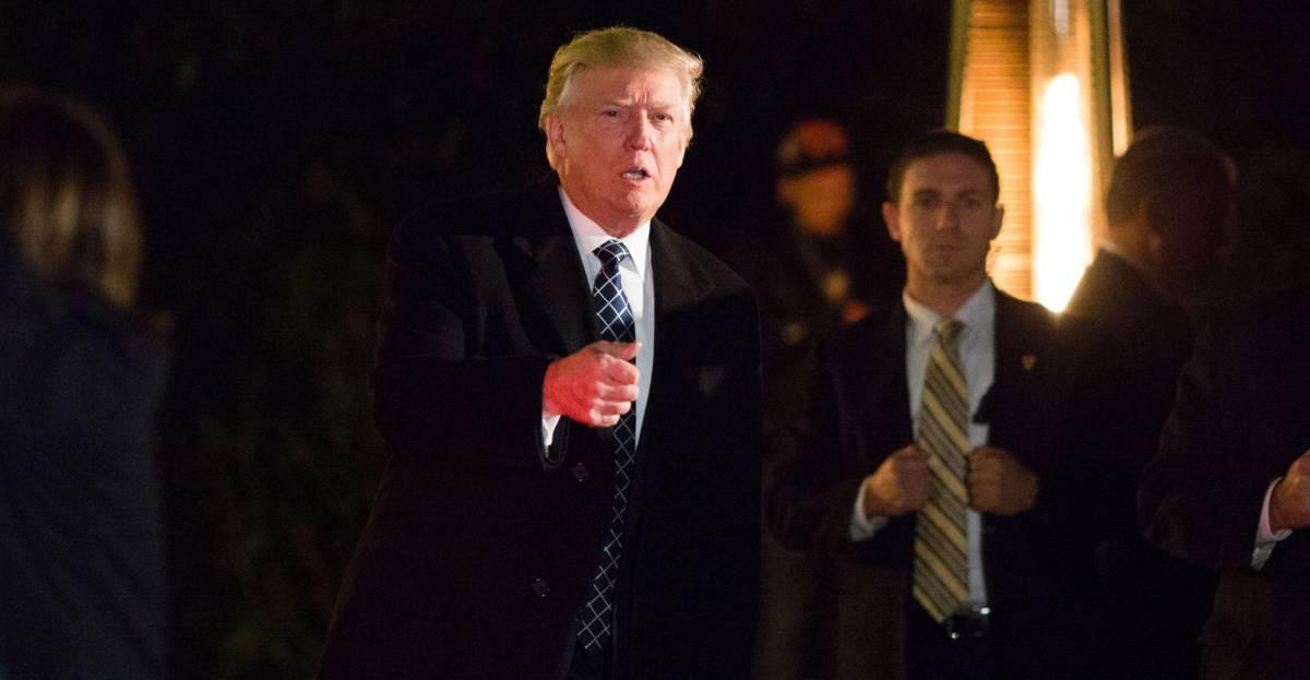 Trump, el sábado en una fiesta en Nueva York