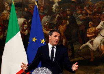 Una peineta a Matteo Renzi