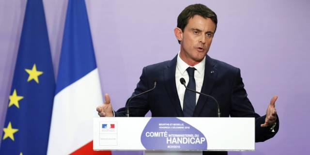El primer ministro Manuel Valls el pasado día 2 en Nancy.