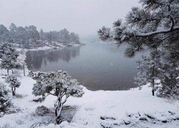 Se registran las primeras nevadas en el norte de México