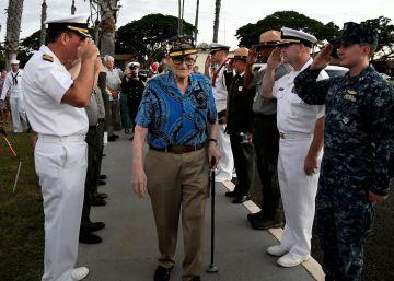 EE UU recuerda a los muertos en el ataque de Pearl Harbor hace 75 años