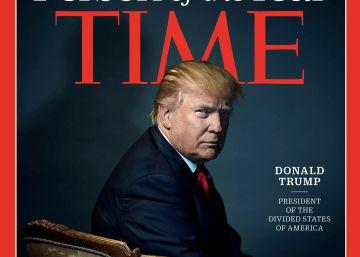 """Donald Trump, persona del año de la revista 'Time' como """"presidente de los Estados Divididos de América"""""""