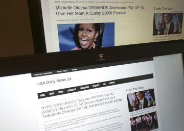 La mayoría de los estadounidenses se cree las noticias falsas que ve online
