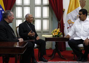 El régimen chavista cuestiona la mediación del Vaticano