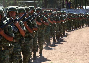 Entrenamiento militar en México