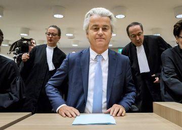 La justicia holandesa condena sin multa a Wilders por insultos y discriminación