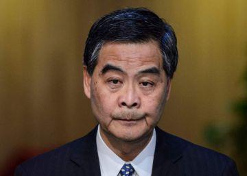 El jefe del Ejecutivo de Hong Kong renuncia a la reelección