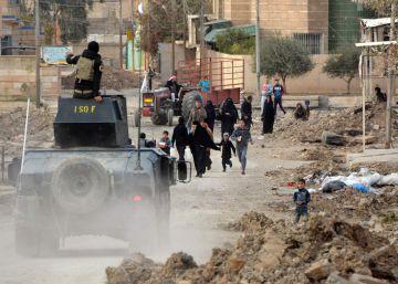 Asesinos sin cara acorralados en Mosul