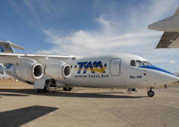 TAM de Bolivia dejará de operar en aeropuertos civiles