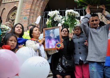 El asesinato de una niña de siete años reabre la grieta de los estratos sociales en Colombia