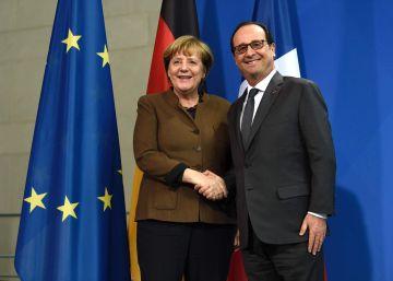 Merkel y Hollande piden prorrogar las sanciones económicas a Rusia