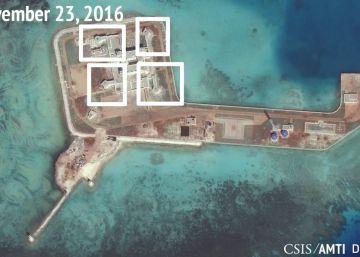 Pekín instala sistemas antiaéreos en sus islas artificiales