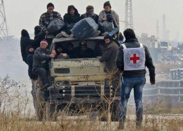 La ardua misión de salir vivo de Alepo