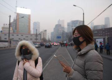 La contaminación vuelve a ahogar Pekín