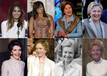 """Las primeras damas de Estados Unidos y sus """"causas"""""""