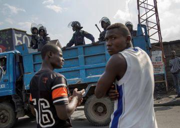 Más de 100 detenidos en Congo en la cuenta atrás para el fin de mandato de Kabila