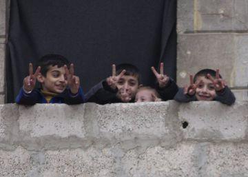 47 huérfanos entre los más de 4.000 niños evacuados de Alepo