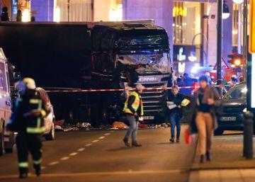 Un camionero mata a 12 personas en Berlín y reaviva el miedo al terrorismo en Europa