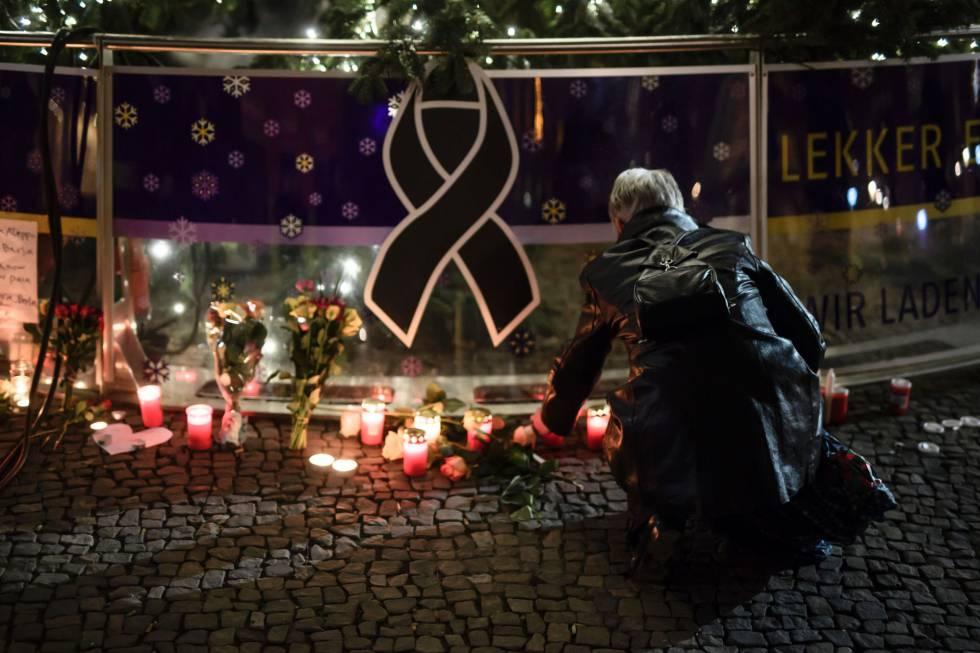 Zona del atentado en Berlin