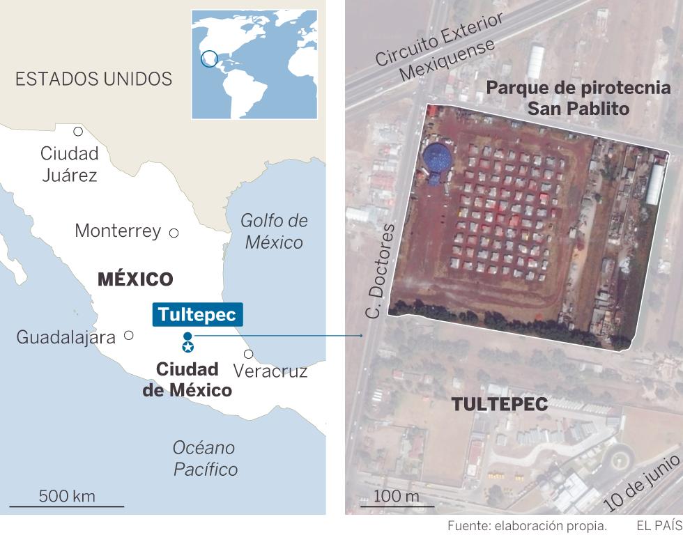 Explosion en Tultepec