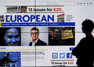 La voz contra el 'Brexit' es un periódico en papel... y funciona