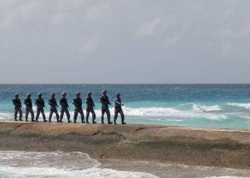 El nuevo jefe de la diplomacia de EE UU quiere prohibir a China el paso a sus islas artificiales