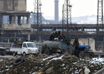 El Ejército sirio proclama que ha tomado el control del este de Alepo