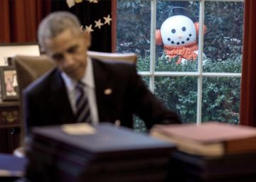 La broma de los empleados de la Casa Blanca al presidente Obama