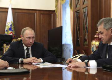 Putin anuncia un alto el fuego entre el régimen y los rebeldes sirios a partir del viernes