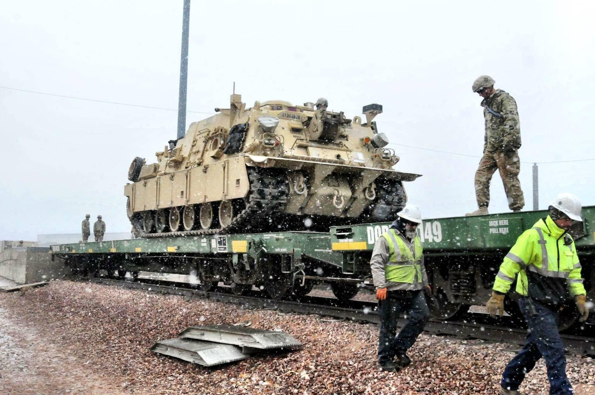 EUA preparam sua maior operação militar na Europa desde a Guerra Fria