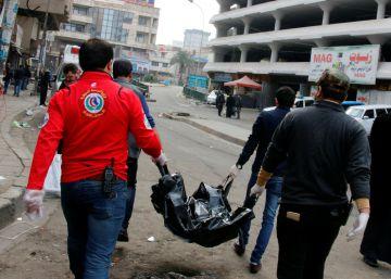 25 muertos y 50 heridos por dos atentados en el centro de Bagdad