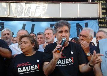 El hotel Bauen, símbolo de las empresas recuperadas, resiste a Macri