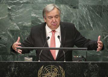 Guterres toma el mando de la ONU exhortando a los líderes a lograr la paz