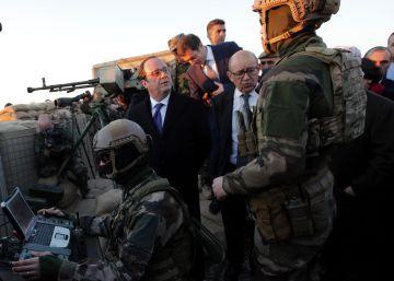 Hollande defiende la intervención en Irak para evitar atentados en Francia
