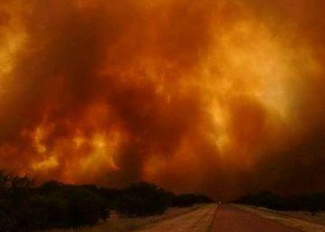 El fuego destruye 840.000 hectáreas de campos en Argentina