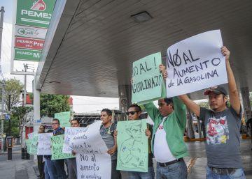 El encarecimiento de la gasolina detona el enfado de los mexicanos