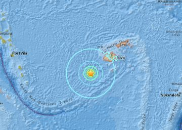 Un terremoto de magnitud 6,9 sacude Fiyi