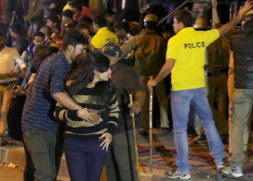 India detiene a seis personas por los ataques sexuales masivos en Bangalore en Nochevieja