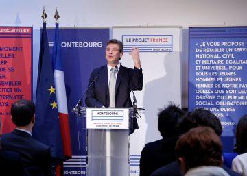Montebourg enarbola políticas de estímulo y proteccionistas contra Valls