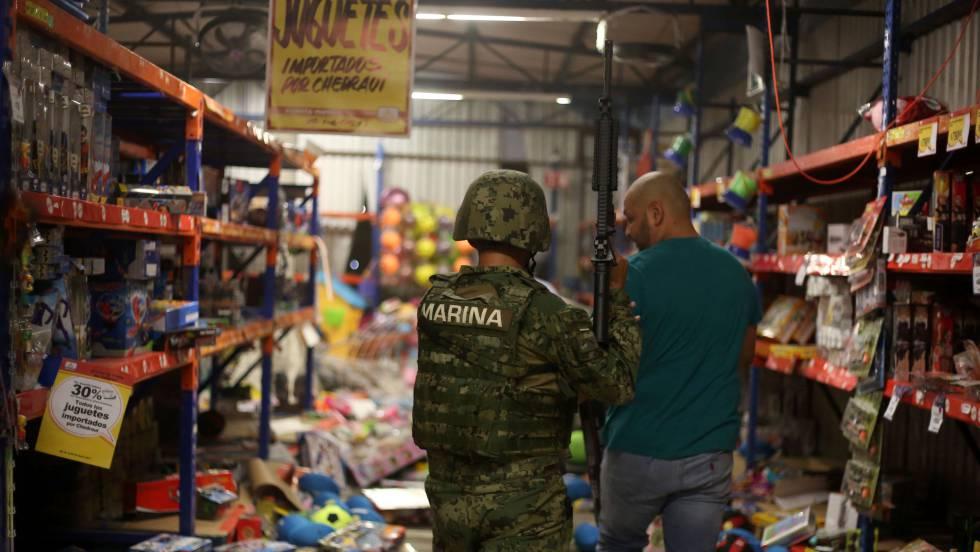 Resultado de imagen de ejército mexicano saqueos