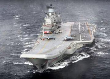 Rusia anuncia un repliegue en Siria con la retirada de un portaaviones